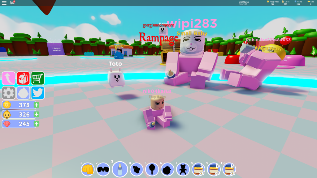 Roblox Toy Simulator Codes Wiki Baby Simulator All Working Codes Fan Site Roblox