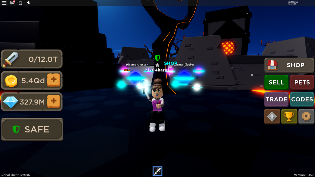 blade throwing simulator roblox