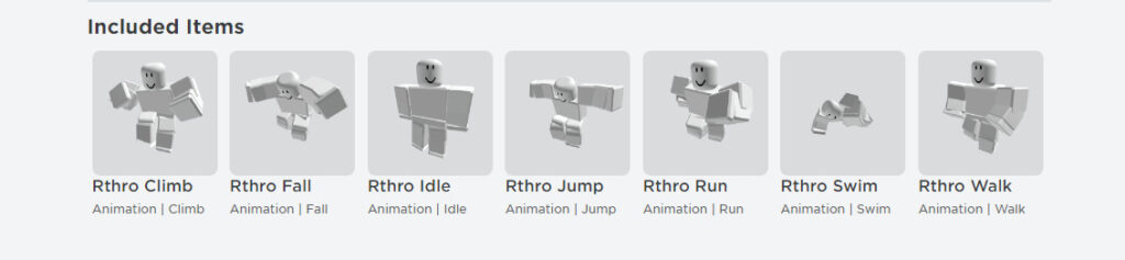 Roblox - Free animations
