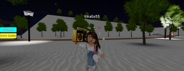 Loud Music in Roblox