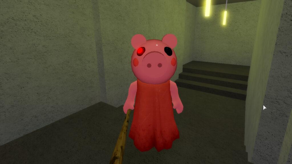 Piggy in person