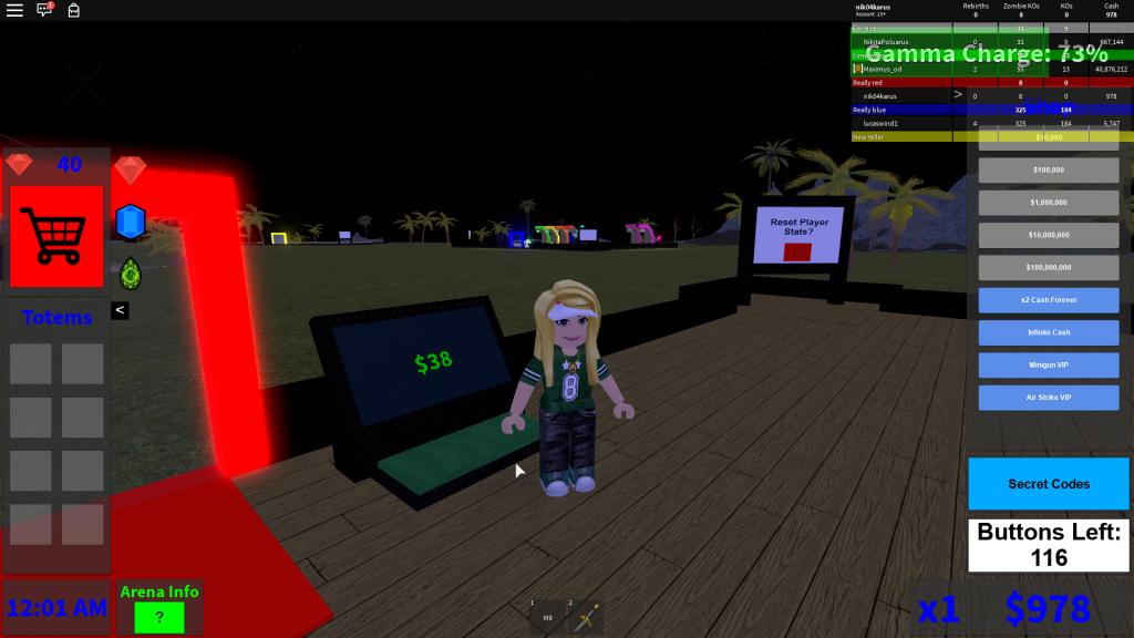 роблокс симулятор зомби тайкун