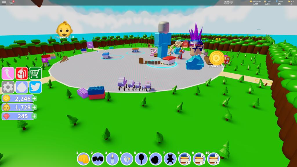 роблокс симулятор ребенка