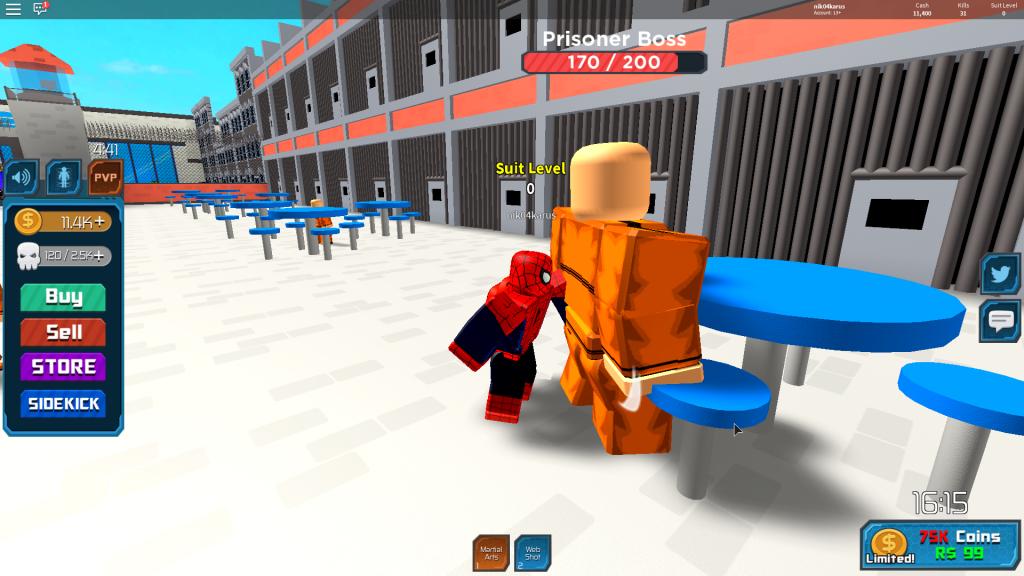 игра симулятор супергероя