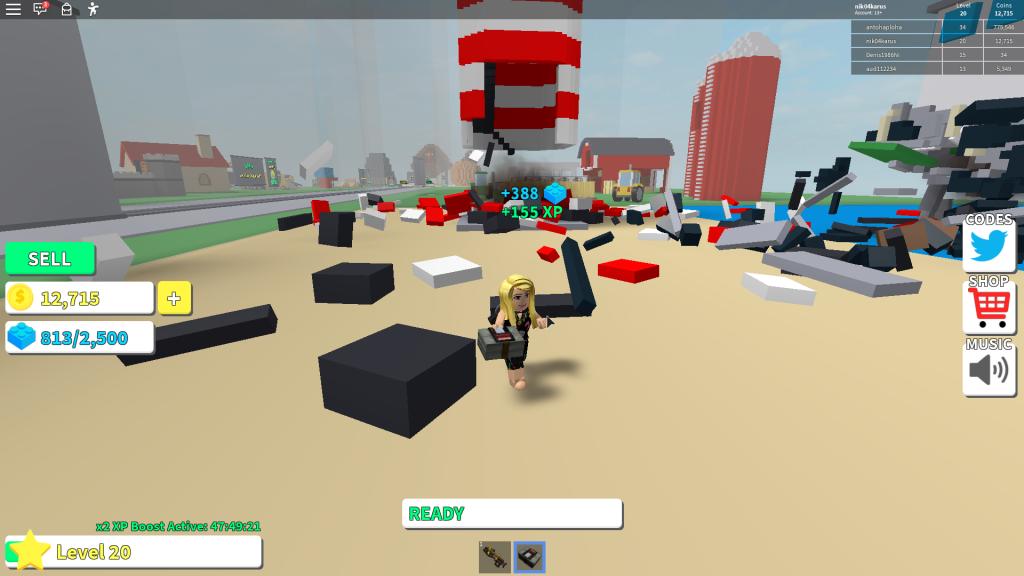 симулятор разрушения зданий