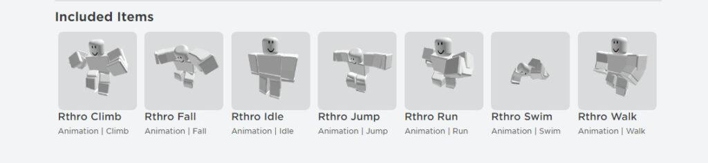 Роблокс бесплатная анимация